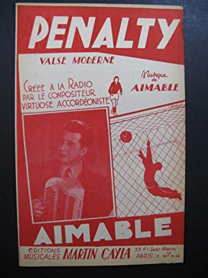 AIMABLE Pénalty Piano Accordéon