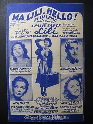 Ma Lili, Hello Chanson 1952: Ma Lili, Hello
