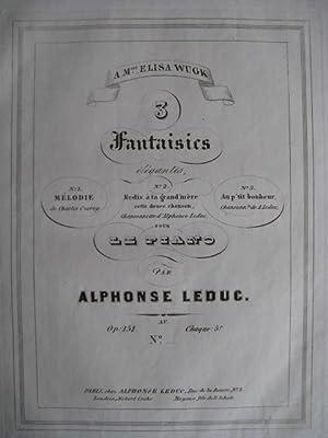 LEDUC Alphonse 1ère Fantaisie: LEDUC Alphonse 1ère