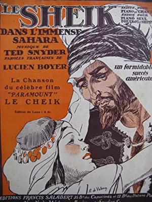 Le Sheik, Ted Snyder Piano Chant