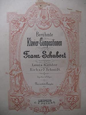 SCHUBERT Franz Klavier Compositionen Piano