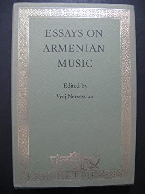 Essays On Armenian Music Vrej Nersessian