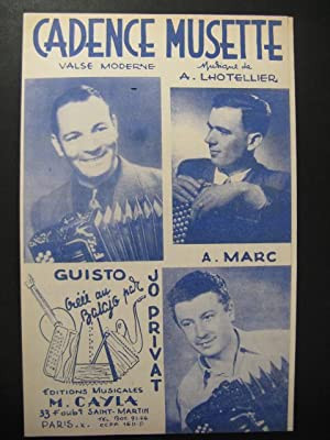 Cadence Musette Jo Privat Accordéon 1953