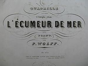 WOLFF P. L'Écumeur de Mer A. Adam: WOLFF P. L'Écumeur