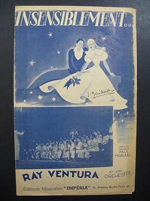 Ray VENTURA Insensiblement chanson 1946: Ray VENTURA Insensiblement