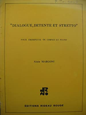 MARGONI Alain Dialogue Detente et Stretto Trompette Piano 1980
