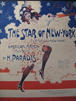 PARADIS H. The Star of New-York Piano 1908