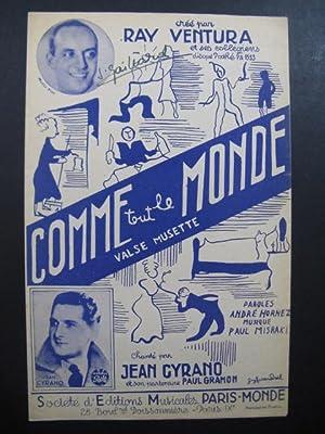Ray VENTURA Comme tout le Monde Chanson: Ray VENTURA Comme