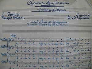 Poesie Partitions De Musique Abebooks