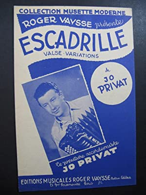 PRIVAT Jo Escadrille Accordéon