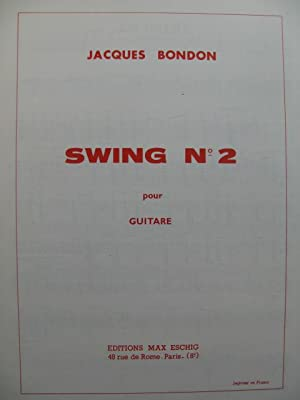 BONDON Jacques Swing No 2 Guitare 1973