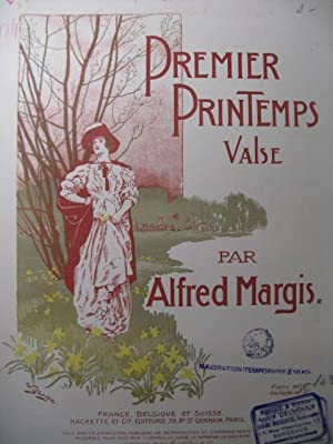 MARGIS Alfred Premier Printemps Piano 1903