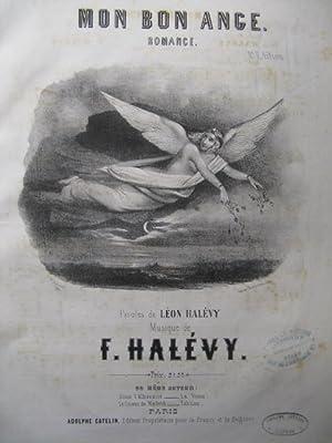 HALÉVY F. Mon Bon Ange Chant Piano: HALÉVY F. Mon