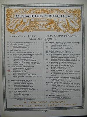 CARULLI Ferdinando 2 Menuette Guitare: CARULLI Ferdinando 2