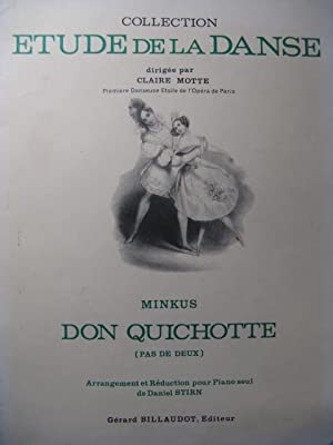 MINKUS Don Quichotte Danse Piano