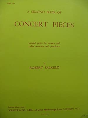 SALKELD Robert A second Book of Concert Pieces Flûte à bec Piano