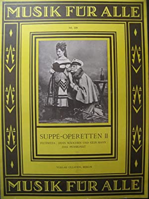 SUPPÉ Operetten II Opera Piano 1926