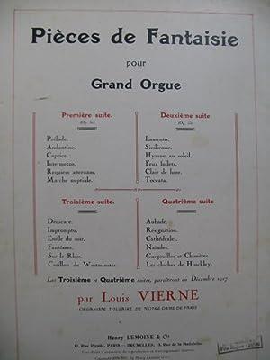VIERNE Louis Pièces de Fantaisie 2e Suite: VIERNE Louis Pièces