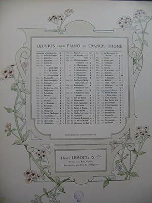 THOMÉ Francis Gavotte et Musette Piano 1891: THOMÉ Francis Gavotte