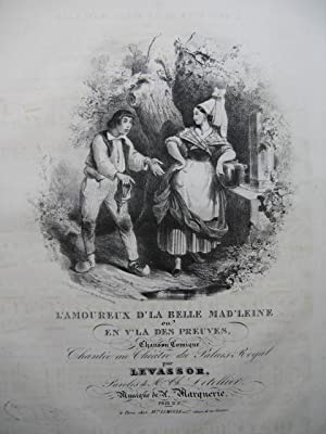 MARQUERIE A. L'amoureux d'la Belle Mad'leine Chant: MARQUERIE A. L'amoureux