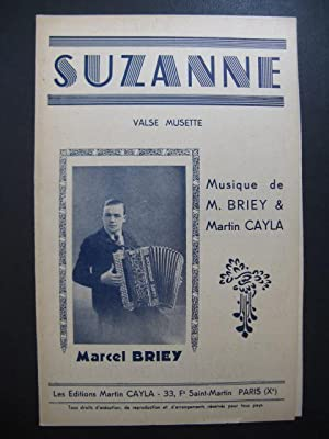 Suzanne Valse Musette Marcel Briey Accordéon