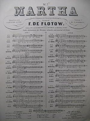 F. DE FLOTOW Martha n° 7 bis: F. DE FLOTOW