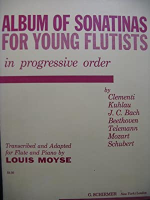 Album of Sonatinas for Young Flutists 7 Pièces Piano Flûte