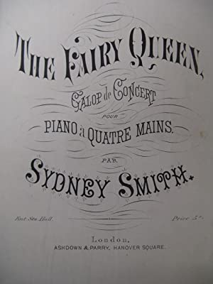 SMITH Sydney The Fairy Queen Piano 4 mains XIXe