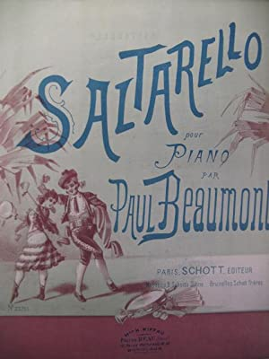 BEAUMONT Paul Saltarello Piano 1885: BEAUMONT Paul Saltarello