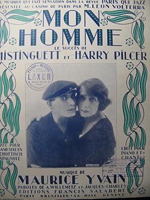 YVAIN Maurice Mon Homme Mistinguett Chant Piano: YVAIN Maurice Mon