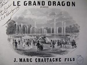 CHAUTAGNE Jean Marc Le Grand Dragon Piano ca1850