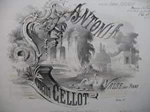 CELLOT Henri Antonia Piano ca1850