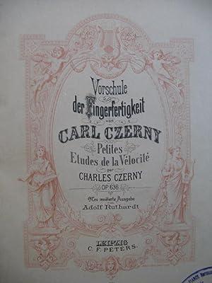 CZERNY Carl Petites Etudes et Ecole de: CZERNY Carl Petites
