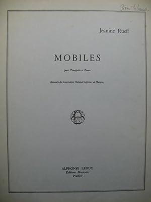 RUEFF Jeanine Mobiles Trompette Piano 1967: RUEFF Jeanine Mobiles
