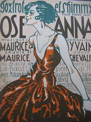 YVAIN Maurice Ose Anna Fox-Trot et Shimmy: YVAIN Maurice Ose
