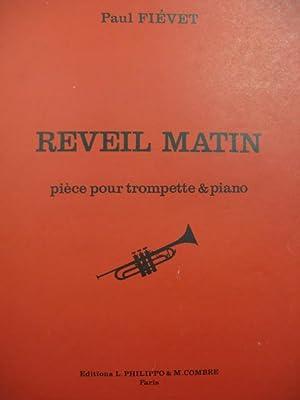 FIÉVET Paul Réveil Matin Piano Trompette 1972: FIÉVET Paul Réveil