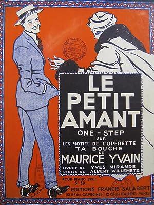 YVAIN Maurice Le Petit Amant Piano 1922: YVAIN Maurice Le