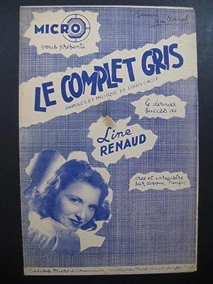 Le Complet Gris Line Renaud Louis Gasté: Le Complet Gris