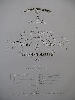SCHUBERT Franz La Truite Piano ca1848: SCHUBERT Franz La