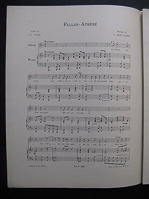SAINT-SAËNS Camille Pallas-Athèné Chant