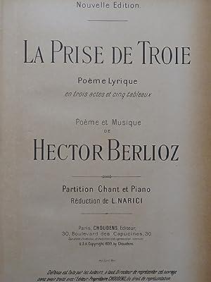 BERLIOZ Hector La Prise de Troie Chant: BERLIOZ Hector La