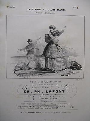 LAFONT Charles Philippe Le Départ du Jeune: LAFONT Charles Philippe