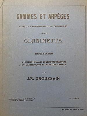 GROUSSAIN J. R. Gammes et Arpèges 2e: GROUSSAIN J. R.