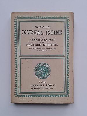 Journal Intime / Hymnes à La Nuit: NOVALIS