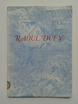 Raoul DUFY: CATALOGUE / DUFY