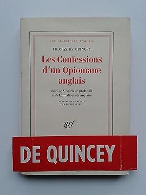Les Confessions d' un Opiomane Anglais: QUINCEY Thomas De
