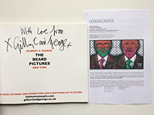 GILBERT & GEORGE : The Beard Pictures [ HANDSIGNED by the Artists ]