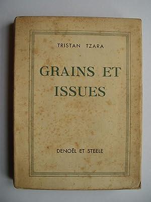 Grains et Issues: TZARA Tristan