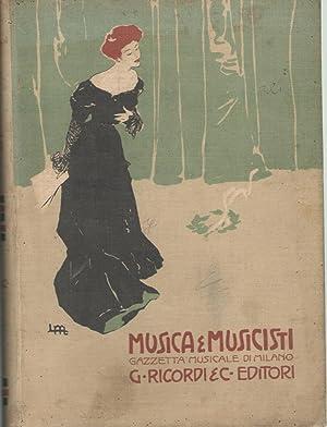 MUSICA E MUSICISTI, GAZZETTA MUSICALE DI MILANO: AA.VV.
