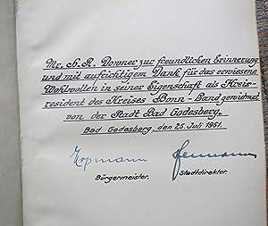 WEIDEMANN, ALFREDGESCHICHTE GODESBERGS Und SEINER UMGEBUNG Zweite Vermehrte Auflage. (SIGNED BY ...